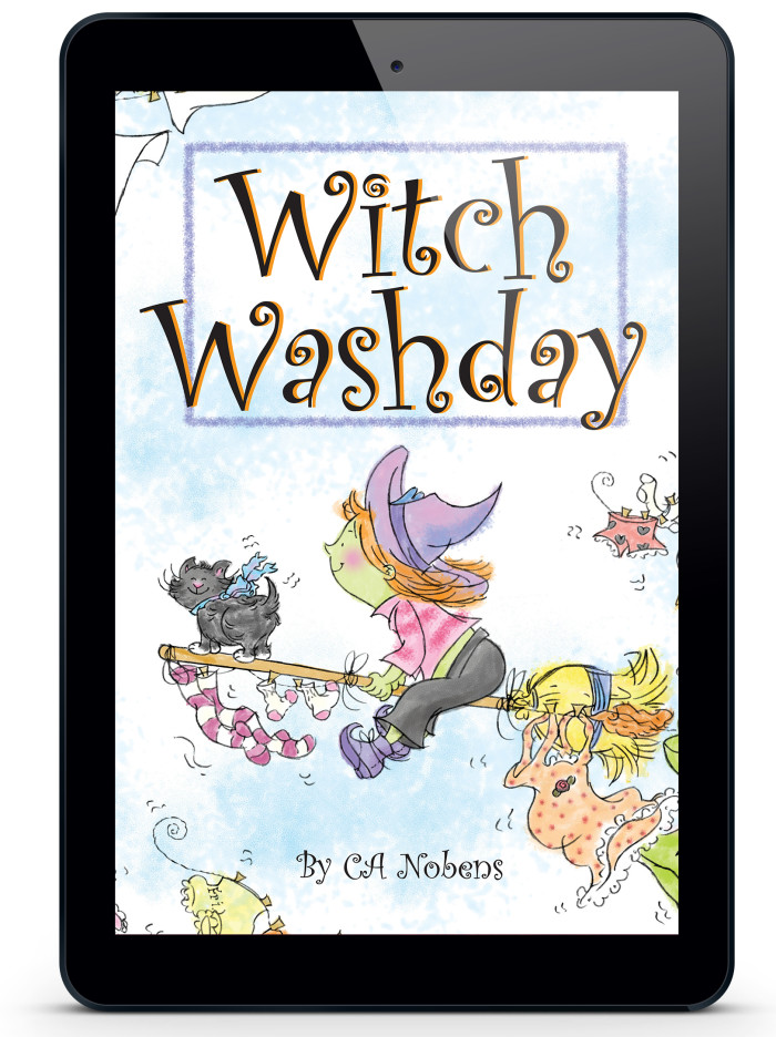 Witch Washday, the Ebook, is available NOW!